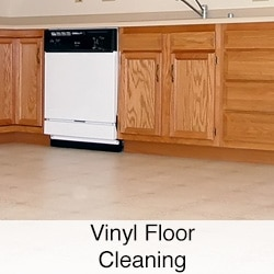 Vinyl Floor Cleaning Service